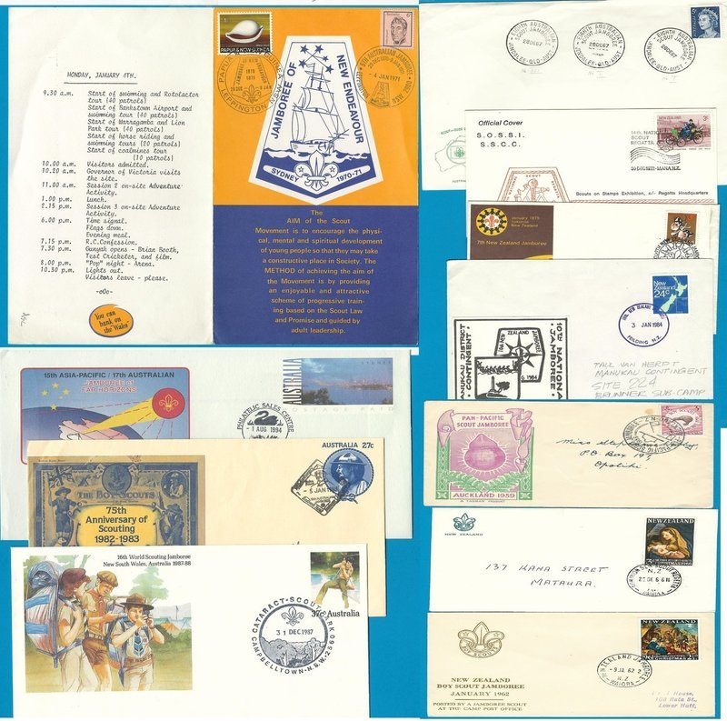 Jamboree covers and stationery Australia & New Zealand