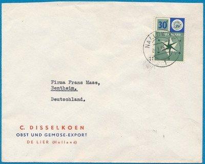 NEDERLAND brief Naaldwijk 1958 naar Duitsland