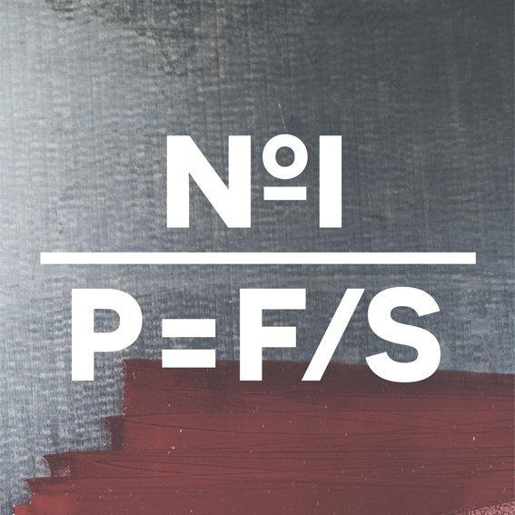 Kniha o tisku z výšky a knihtisku P=F/S