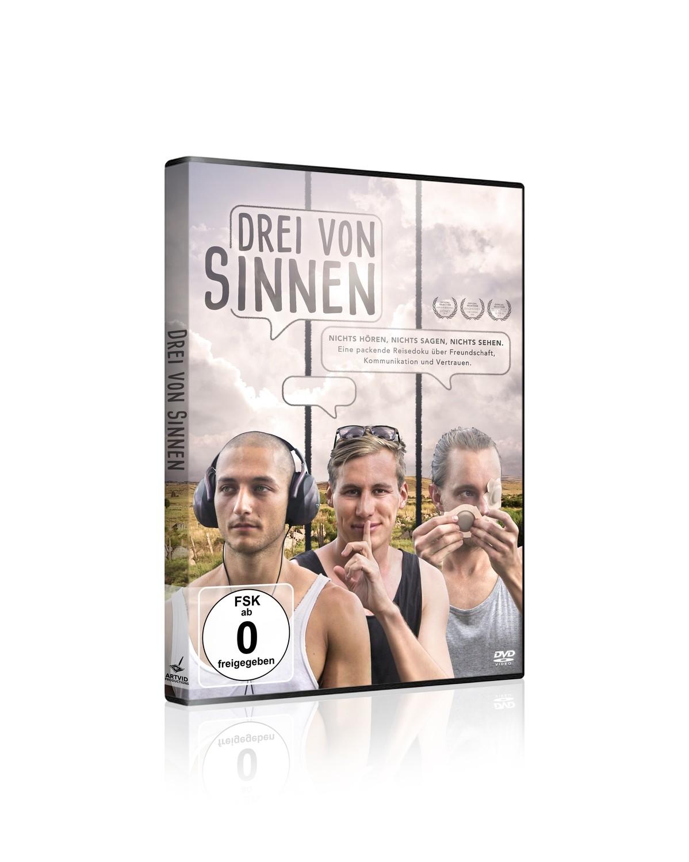DVD - Drei von Sinnen - Three Monkeys One Journey   incl. Bonusmaterial