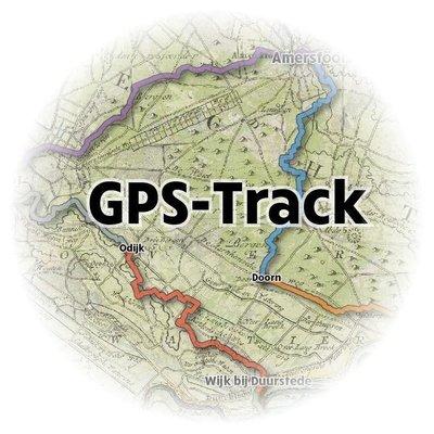 GPS-Track van het Gelukkigerwijspad