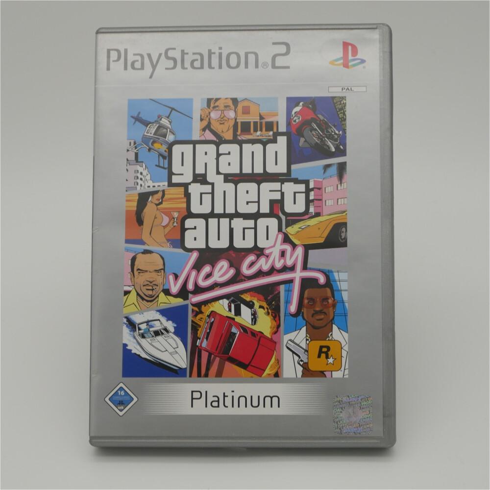 GTA Vice City Platium Playstation 2