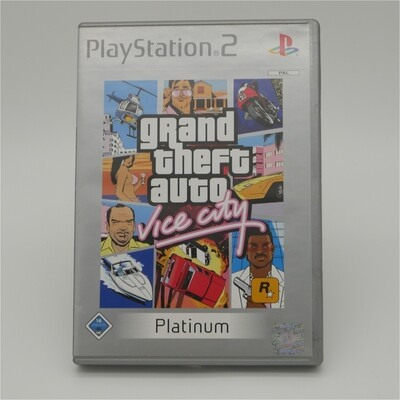 GTA Vice City Platium Playstation 2 - Used Item
