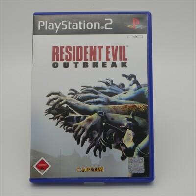 Resident Evil Outbreak Playstation 2