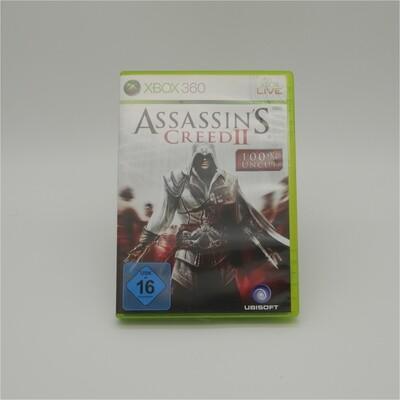AsssassinsCreed2 100% UNCUT XBox 360 - Used Item