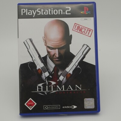 Hitman Contracts Uncut Version PlayStation 2 - Used Item