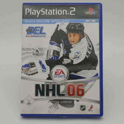 NHL 06 Playstation - Used Item
