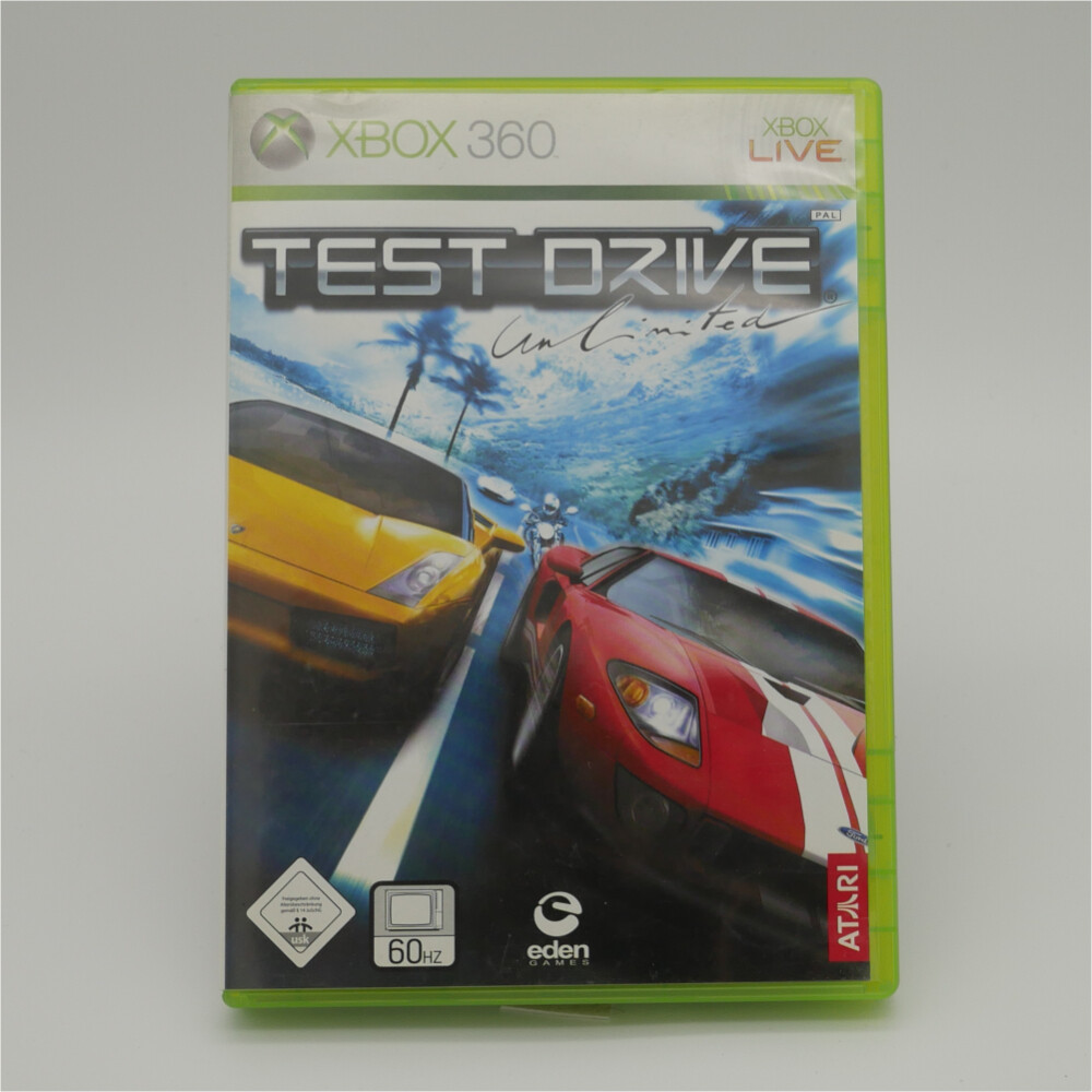 Test Drive Unlimited XBox 360 - Used Item