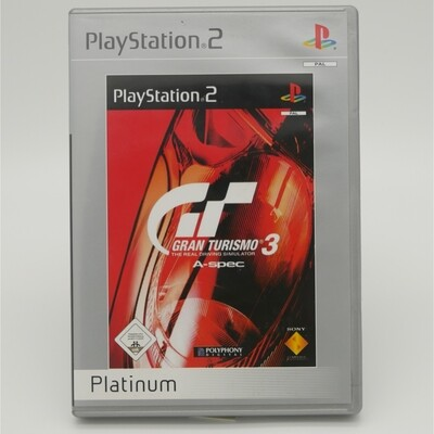 GranTurismo A-Spec Platium Playstation 2