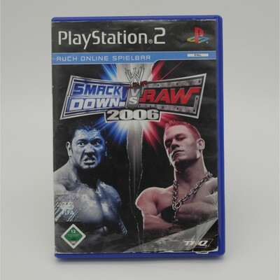 Smack Down vs Raw 2006 Playstation 2 - Used Item