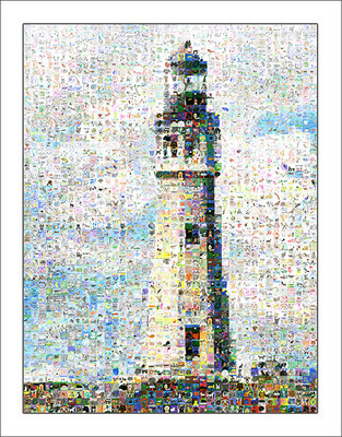BFLO Lighthouse Mosaic