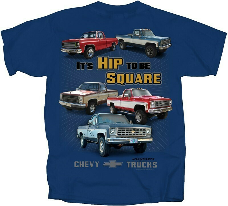Chevy Trucks - Hip To Be Square