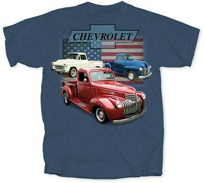 Chevy 46-55-53 Retro Trucks