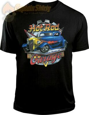 """Hot Rod Garage """"Where Dreams are Built"""""""