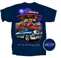"""Chevrolet Nightime Drive In """"Let the Good Times Roll"""""""