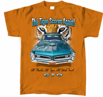 "Pontiac GTO ""The Tiger Scores Again!"""