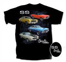 """Chevelle by Chevrolet """"Bad SS"""""""