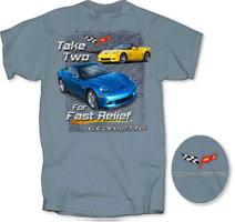 "Corvette C6 ""Take Two for Fast Relief"""