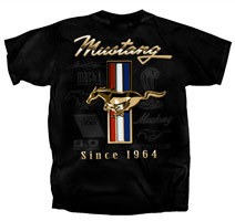 Mustang Golden Tribar Since 1964