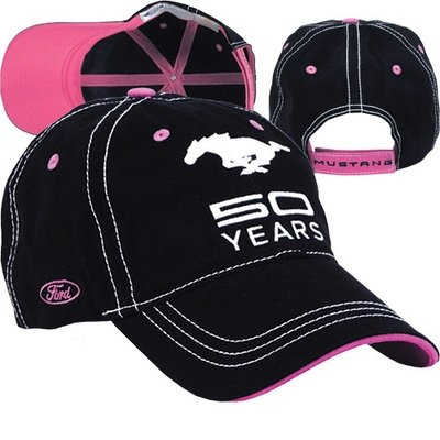 Mustang 50 Years Pink/Black Cap