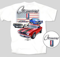Camaro's Red, White and Blue Flag