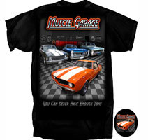 "Muscle Garage ""You Can Never Have Enough Toys"""