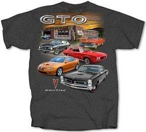 Pontiac GTO Garage Scene