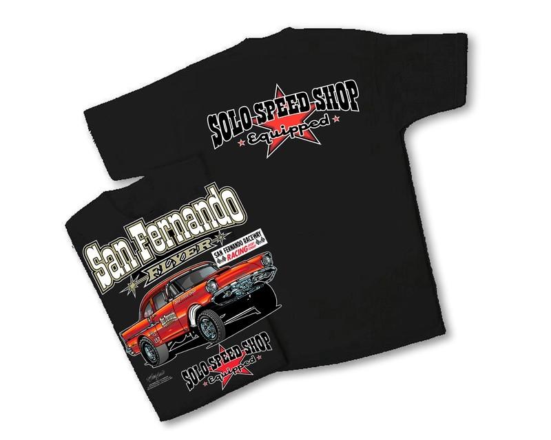 Solo Speed Shop San Fernando Flyer