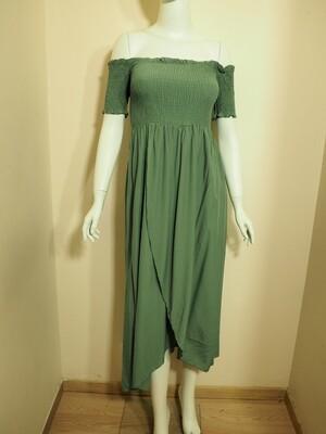 Φόρεμα μακρύ μέντα