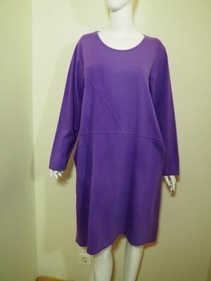 Φόρεμα μάξι cotton μωβ