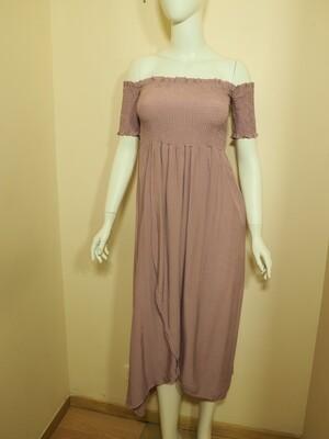 Φόρεμα μακρύ λιλά