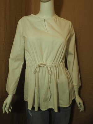 Μπλούζα cotton λευκή
