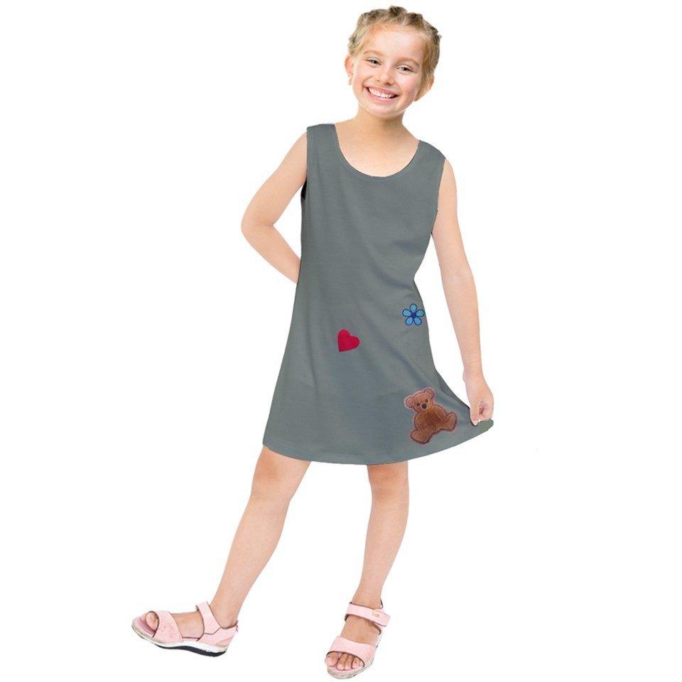 Kids' Kaylee Ensemble (Dress + T)
