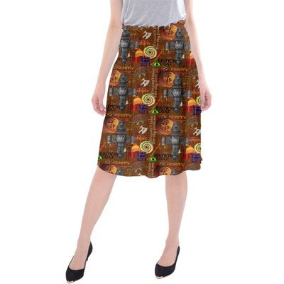 Big Damn Heroes Midi Beach Skirt