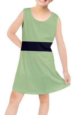 Girl Power Buttercup-Inspired Kids' Tunic Dress