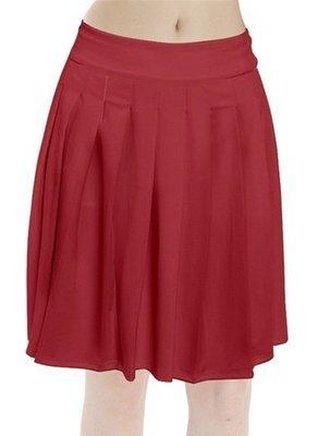 Velma Pleated Midi Skirt
