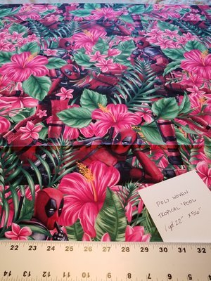 Woven, Poly: Tropical 'Pool