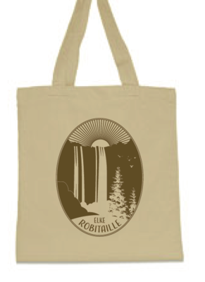 Elke Robitaille Waterfall Canvas Tote Bag