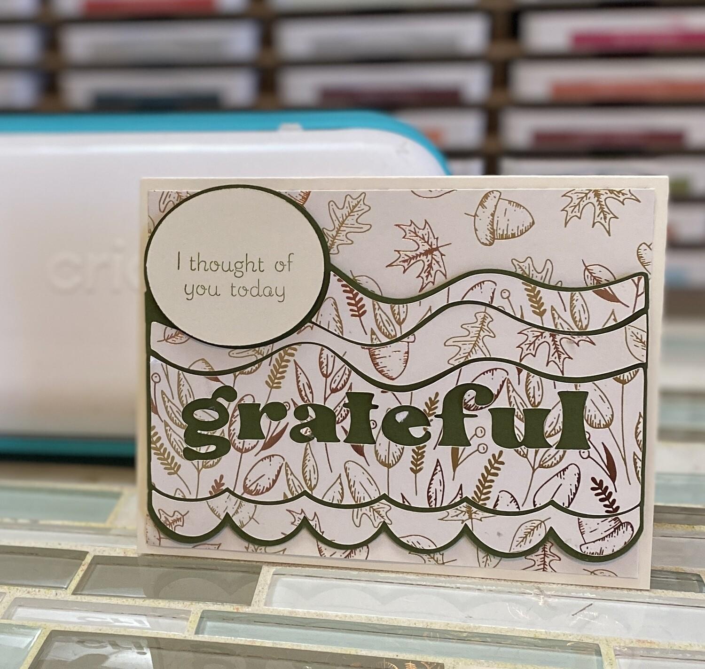 JOY: Grateful Card
