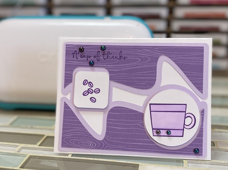 JOY: Square and Circle Card