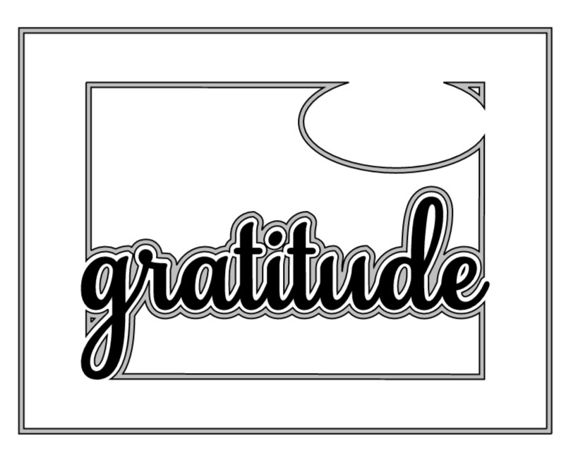 JOY: Gratitude Card