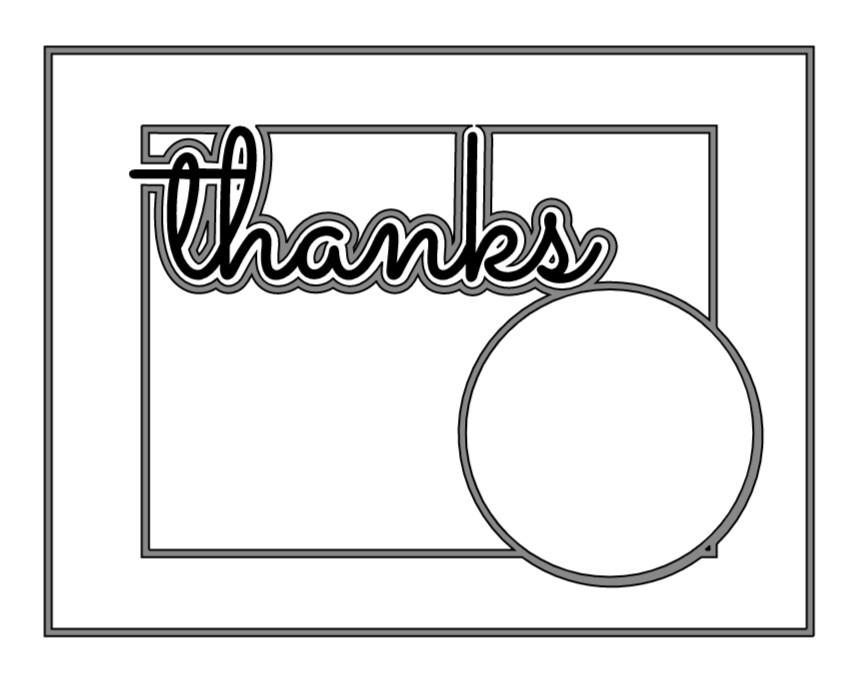 JOY: Thanks Card