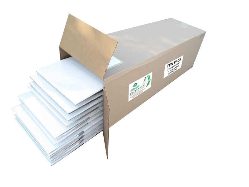 10-Pack - 4ft Lamp Recycling Kit (Jumbo)