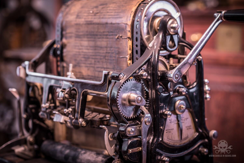 Gesteter Matritzen Druckmaschine