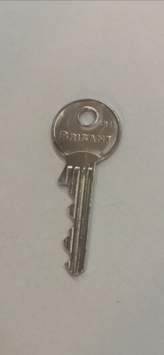 Brisant BS Key. starting with 6Y........ KEYS ARE CLEANED WITH ALCOHOL WIPES BEFORE DESPATCH