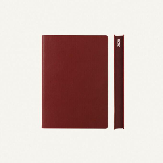 Signature 2020 Határidőnapló - A6, piros