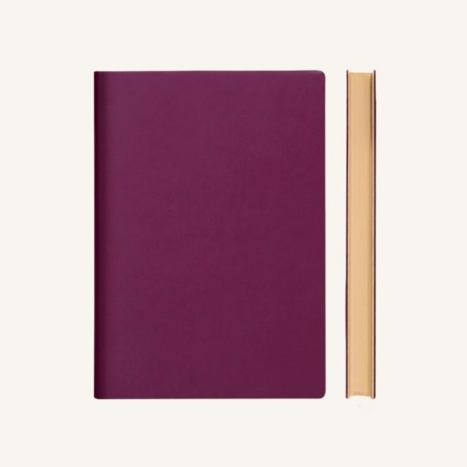Signature vonalas jegyzetfüzet - A5 , lila