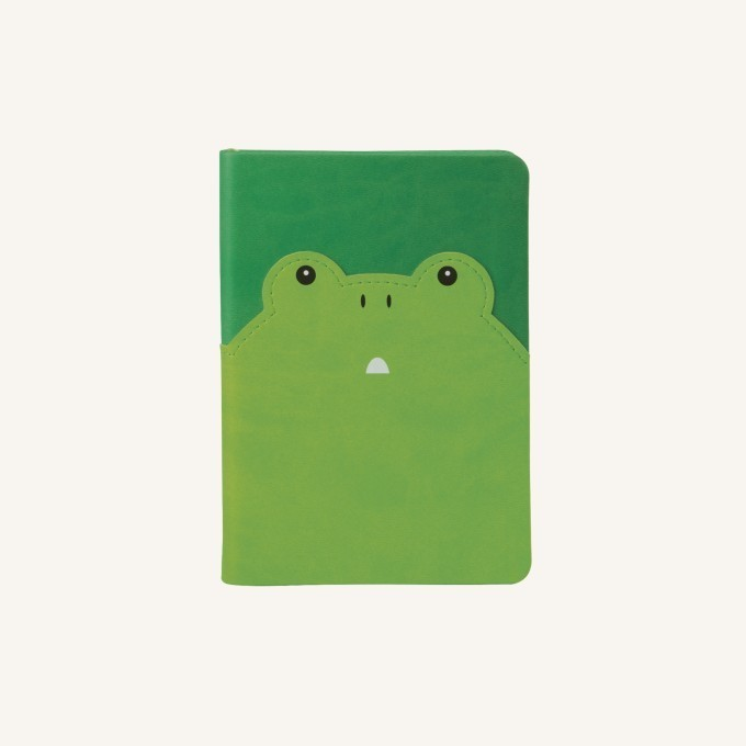 Animal Pals vonalas jegyzetfüzet - A6, béka