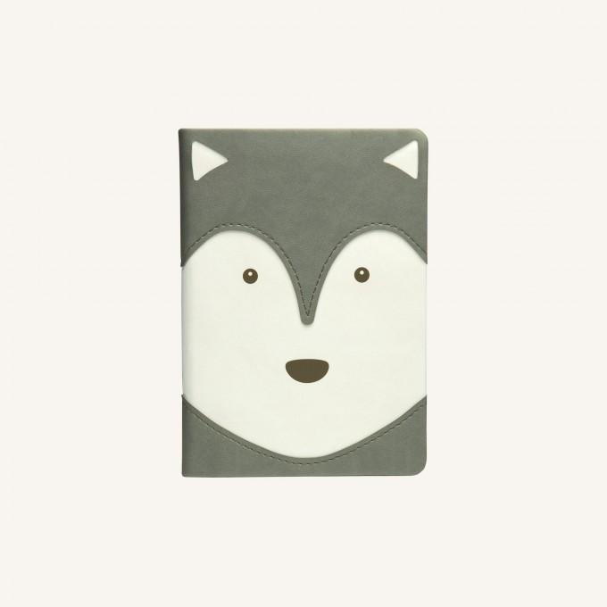 Animal Pals vonalas jegyzetfüzet - A6, husky