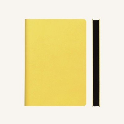 Signature vonalas jegyzetfüzet - A5 , sárga